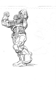 Graphic Novel Art portfolio item