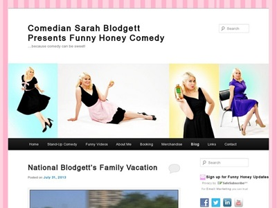 Comedy Writing portfolio item