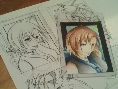 Anime Art portfolio item