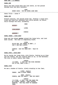 Screenwriting portfolio item