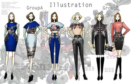 Kellykwon Freelance Fashion Illustrator T Shirt Designer