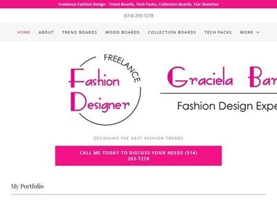 Graciela Barrios Freelance Fashion Illustrator Graphic Designer