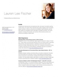 Blog Writing portfolio item