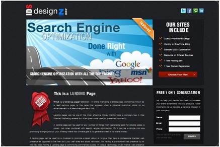 Website Ad Design portfolio item