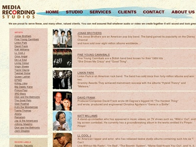 Music Production portfolio item