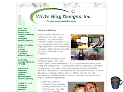 Technical Writing portfolio item