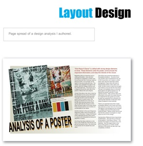 Graphic Design portfolio item