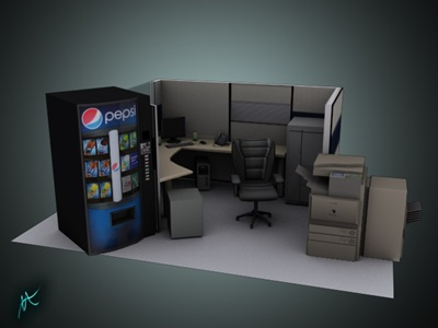 3D Graphic Design portfolio item