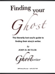 Ghostwriting portfolio item