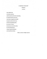 Poem Writing portfolio item