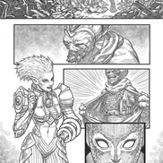 Comic Art portfolio item