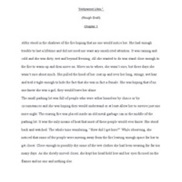 Fiction Writing portfolio item