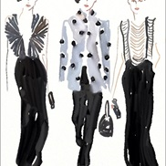 Fashion Illustration portfolio item