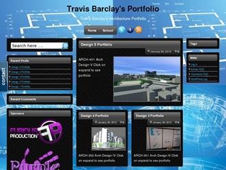Travis Barlcay's Portfolio : Freelance Architect & CAD